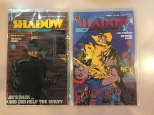The Shadow 1-4 Complete Near Mint Lot Set Run