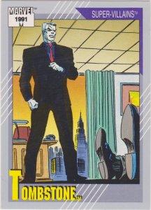 1991 Marvel Universe #67 Tombstone