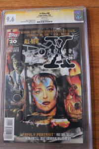 X-Files #20 Signature Series (Topps 1996) CGC 9.6  Signed by David Duchovy