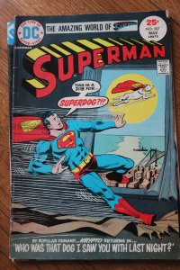 SUPERMAN #287 (DC, 1973) Condition: VG/FN