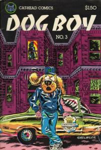 Dog Boy (vol. 1) #3 VF/NM; Cat-Head | save on shipping - details inside
