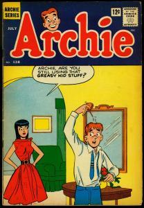 Archie Comics #138 1963- Betty & Veronica- Gag cover- VG