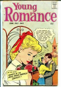 Young Romance Vol. 16 #4 1963-Prize-fashion issue-Jack Kirby-VG