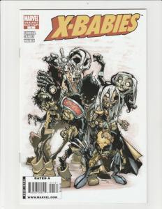 X-Babies #1 (2009 Marvel) 1:25 Ramos Zombie Variant NM Very Rare