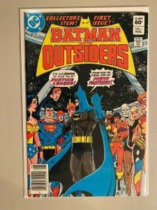 Batman and the Outsiders #1 6.0 FN (1983 1st Series)