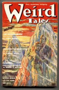 WEIRD TALES May 1939-PULP-HORROR-VIRGIL FINALY-ROBERT E HOWARD-FN