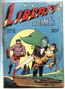LIBERTY #10-1945 GREEN PUB HANGMAN-BOY BUDDIES-BILL VIGODA