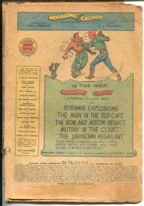Hopalong Cassidy #31 1948- Fawcett-William S Boyd-P