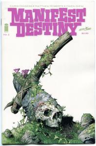 MANIFEST DESTINY #2, NM, 1st print , Lewis Clark trek expedition, 2013, Monsters