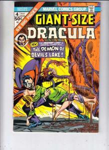 Giant-Size Dracula #4 (Mar-75) NM- High-Grade Dracula