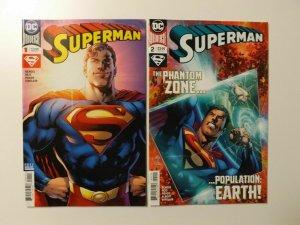 Superman #1-2 (Bendis Reis Prado Sinclair)