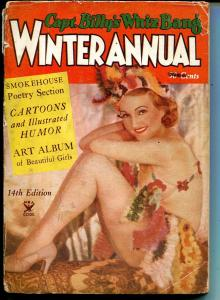 Capt. Billy's Whiz Bang Winter Annual 1935-pre WWII-cheesecake pix-spicy-G