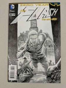 Flash #25 Francis Manapul B&W Sketch Variant (1:25) - DC Comics 2014 Zero Year