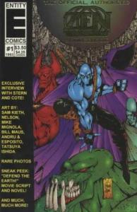 Zen Intergalactic Ninja (1993 series) Sourcebook #1, NM- (Stock photo)