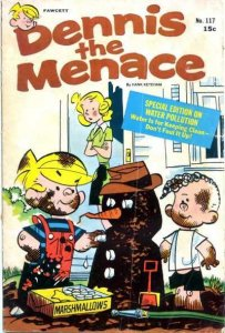 Dennis the Menace (1953 series) #117, Fine (Stock photo)