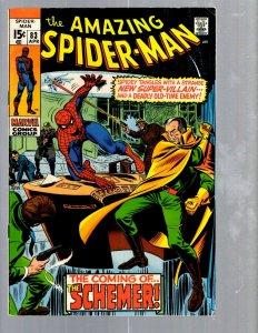 Amazing Spider-Man # 83 VF Marvel Comic Book MJ Vulture Goblin Scorpion TJ1
