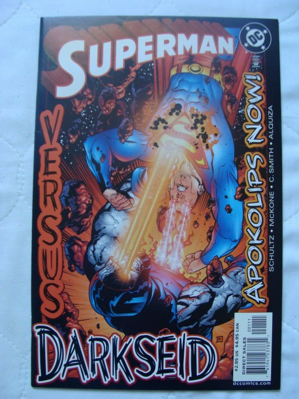 Superman vs. Darkseid: Apokolips Now! #1 (Mar 2003, DC) NM