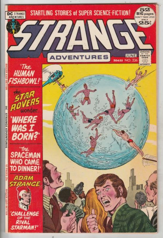 Strange Adventures #236 (Jun-72) VF High-Grade Adam Strange, Alana