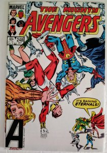 AVENGERS #248 Marvel Comics ID#MBX2