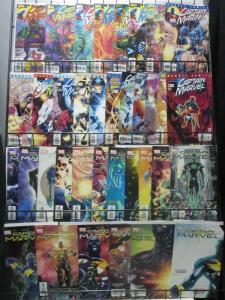 CAPTAIN MARVEL COLLECTION! (5th &6th series, Marvel, 1999)36 books!Peter David!