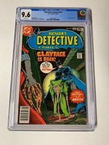 Detective Comics 478 Cgc 9.6 White Pages Dc Comics 2052518021