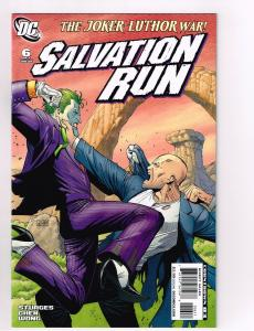 Salvation Run # 6 DC Comic Books Hi-Res Scans Modern Age Awesome Issue WOW!!! S8