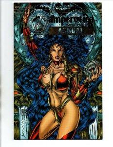 Vamperotica Annual #1 Gold Edition - sexy vampire girl - Brainstorm - NM