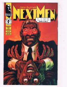 Next Men Lies #29 #3 NM Dark Horse Comics Part 3 Comic Book Byrne DE43 TW14