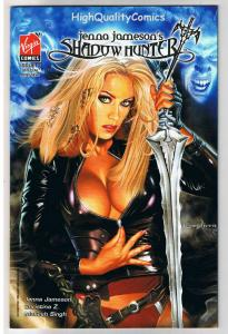 JENNA JAMESON'S SHADOW HUNTER #0, NM+, Greg Horn, 2007, more in store