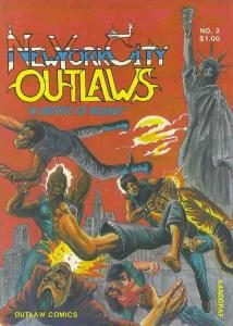 New York City Outlaws #2 VF; Outlaw | save on shipping - details inside