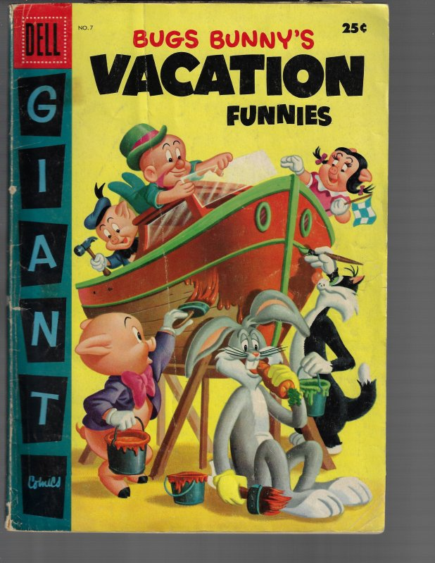 Bugs Bunny's Vacation Funnies #7 (Dell, 1957)