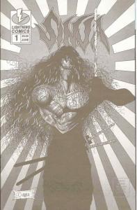 Sinja: Deadly Sins #1 PLATINUM VF/NM; Lightning   save on shipping - details ins
