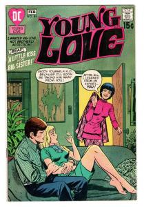 YOUNG LOVE #84 comic book DC ROMANCE-GOOD ISSUE-VG