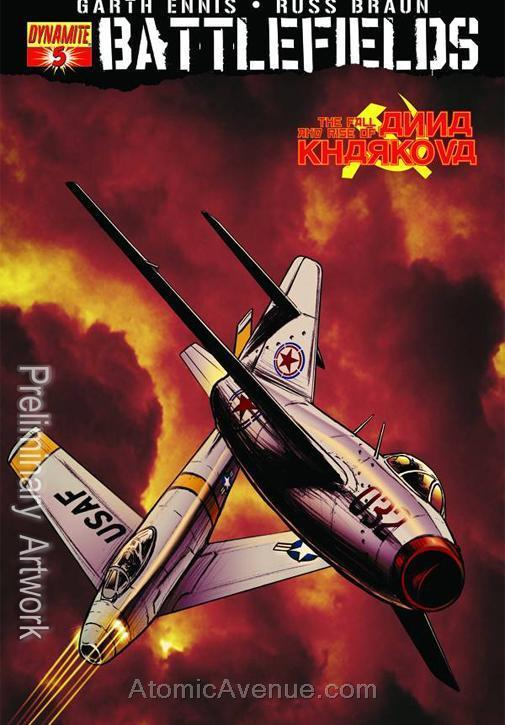 Battlefields (Vol. 2) #5 VF/NM; Dynamite | save on shipping - details inside