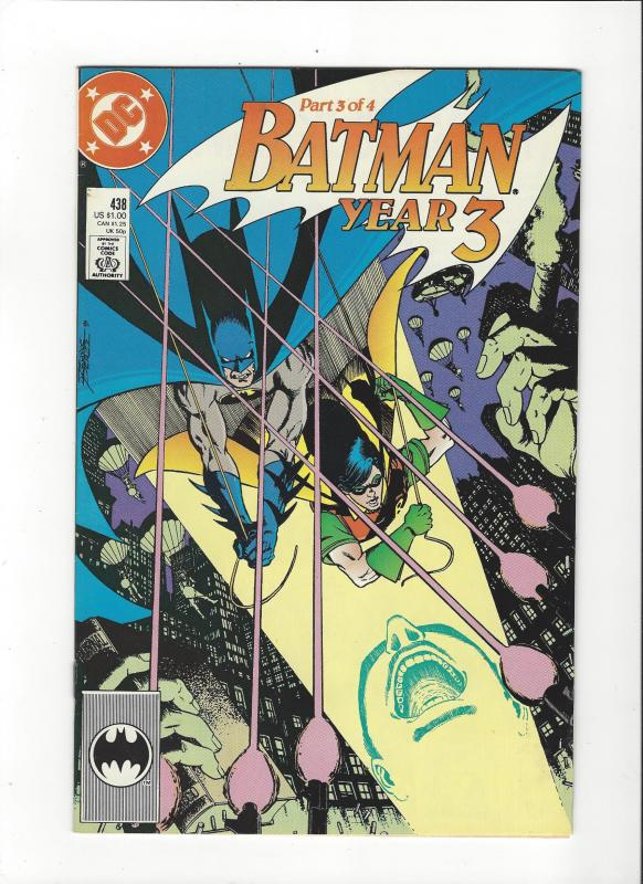 Batman #438 Year 3  NM