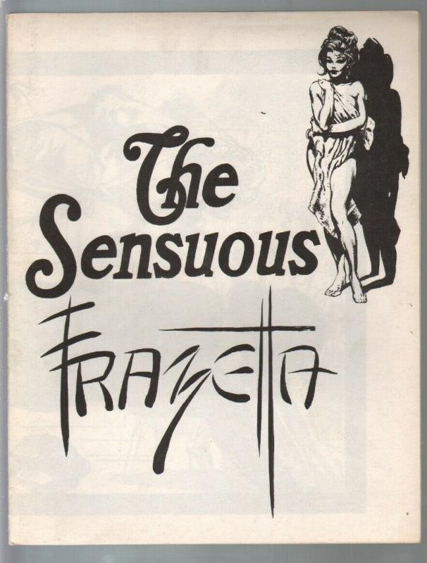 The Sensuous Frazetta 1970's-unstapled copy-reprints Frazetta art-FN