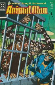 ANIMAL MAN #3, VF/NM, Grant Morrison, Powers, 1988, more in store