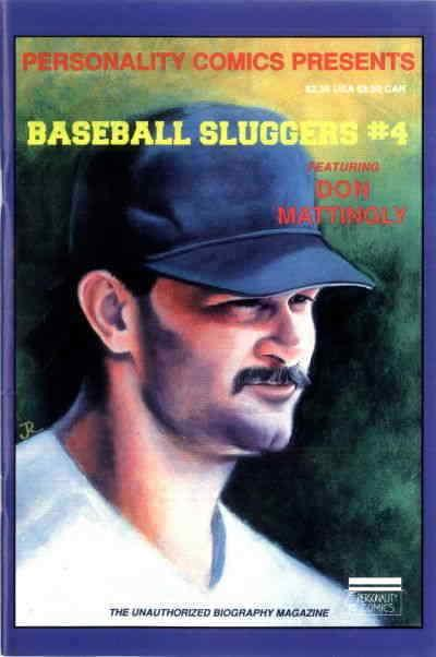 Baseball Sluggers #4 VF/NM; Personality | save on shipping - details inside