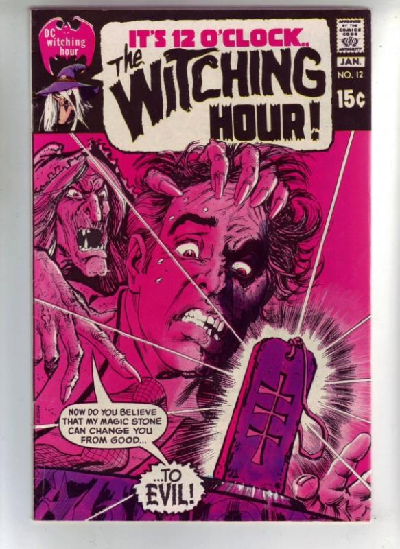 It's 12 O'Clock.. the Witching Hour #12 (Jan-71) VF/NM High-Grade