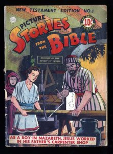 Picture Stories from the Bible #1 GD+ 2.5 (New Testament)