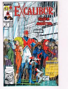 Excalibur #8 VF Marvel Comics Comic Book X-Men May 1989 DE24