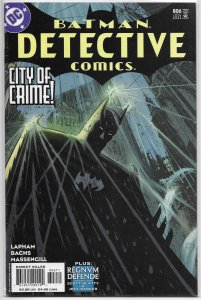 Detective Comics   vol. 1   #806 FN (City of Crime 6)
