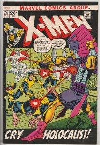 X-Men #74 (Feb-72) NM- High-Grade X-Men