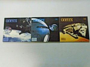 Cinefex Spaceship Lot 3 Different Average 6.0 FN (1995-1999)