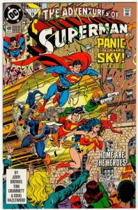 ADVENTURES OF SUPERMAN #489 (VF/NM) No Resv! 1¢ Auction! See More!!!
