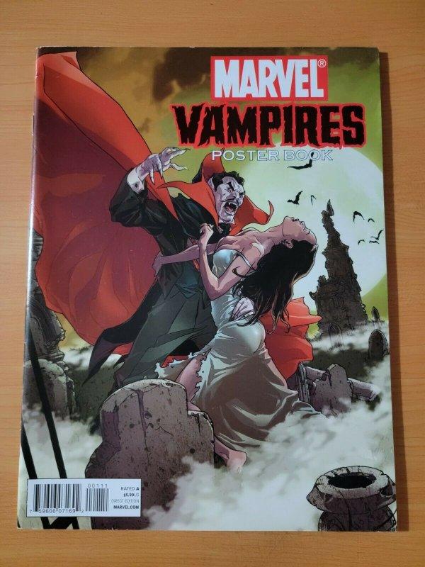 Marvel Vampires Poster Book #1 ~ NEAR MINT NM ~ 2010 Marvel Comics