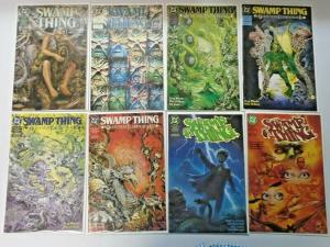 Swamp Thing lot #100 to #156 + Annuals 45 different books 8.0 VF (1990)