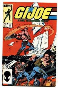 G.I. JOE #30 1984- Marvel Comics 1st appearance Sean Collins aka Throwdown