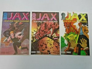Jax and the Hellhound Set #1-3 6.0 FN (1986)
