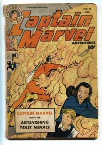 Captain Marvel Adventures #75 1947-Golden-Age-YEAST MENACE G-